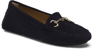 Made In Italy Suede Driving Moccasins