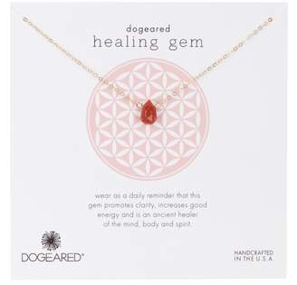 Dogeared Sterling Silver Healing Gem Pendant Necklace