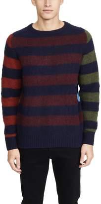 Howlin' Acid Journey Multi Stripe Sweater