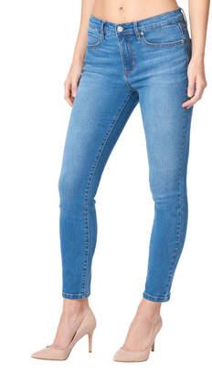 Nicole Miller New York High-Rise Skinny Jeans, Blue