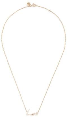 Stephen Webster 'Neon Love' diamond 18k yellow gold pendant necklace