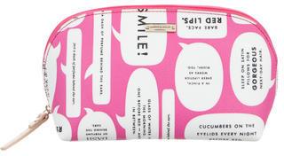 Kate SpadeKate Spade New York Leather Printed Cosmetic Bag w/ Tags