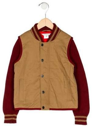 Little Marc Jacobs Boys' Varsity Jacket