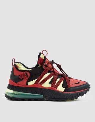 Nike 270 Bowfin Sneaker in Black/University Red/Light Zitron