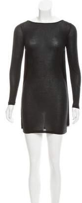 Stella McCartney Fringe-Accented Jersey Dress