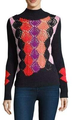 Peter Pilotto Crochet Turtleneck