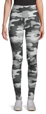 Reebok Camouflage-Print Stretch Leggings