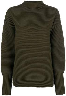 Victoria Beckham Victoria ribbed turtleneck sweater