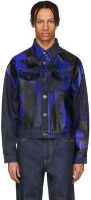 Calvin Klein Indigo Sandra Brant Denim Jacket