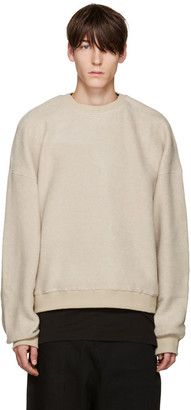 D by D Beige Oversized Pullover $230 thestylecure.com