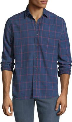 Faherty Men's Ventura Long-Sleeve Cotton Shirt