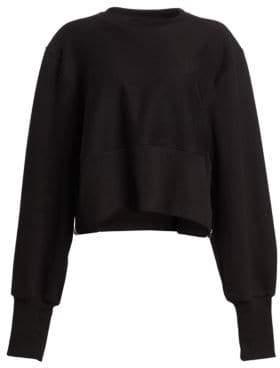 TRE by Natalie Ratabesi Puff Sleeve Crewneck Sweater