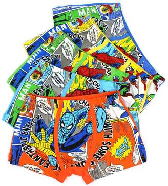 Spiderman YUMILY 2-8 Years Old Boys Funny Boxer Briefs Colorful Cotton Underwear 5 Multipack