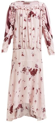 Preen Line Sora Floral Print Dress - Womens - Pink Multi