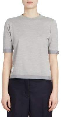 Thom Browne Sheer Back T-Shirt