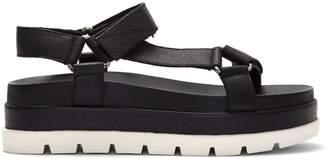 J/Slides NYC Blakey Leather Ankle-Strap Platform Sandals