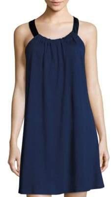 Saks Fifth Avenue COLLECTION Knit Satin-Trim Slip