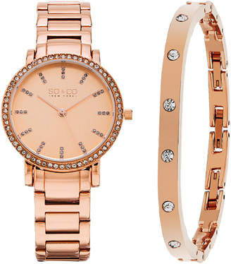 Co SO & So&Co Women's Madison Crystal Watch