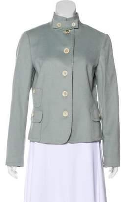 Akris Punto Lightweight Wool & Angora-Blend Jacket