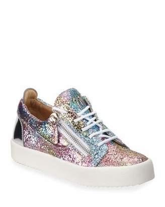 42c7ab66ce080 Giuseppe Zanotti Glitter Sneakers - ShopStyle