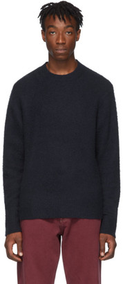 Acne Studios Navy Cashmere Peele Sweater