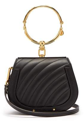 Chloé Nile Small Quilted Leather Cross Body Bag - Womens - Black
