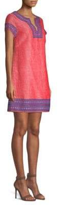 Vineyard Vines Jacquard Tunic Slip Dress