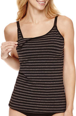 Lamaze INTIMATES Intimates Cotton/Spandex Striped Nursing Cami