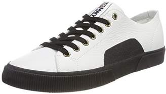 Hommes 5a Chaussure Basse-top, Tommy Blanc Hilfiger