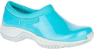 Merrell Women's Encore Moc Pro Shine Slip-Resistant Work Shoe