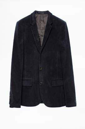 Zadig & Voltaire Version Moleskine Jacket