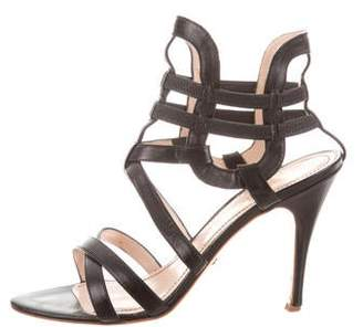 Jerome C. Rousseau Caged Leather Sandals