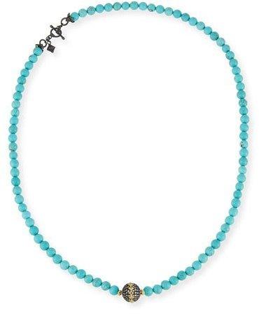 ArmentaArmenta Old World Midnight Beaded Magnesite Necklace