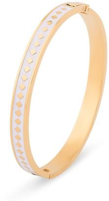 Florence London White Diamond Enamel Bracelet