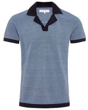 Orlebar Brown Felix Space-Dyed Short Sleeve Shirt
