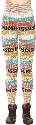 Missoni High Waist Wool Knit Pants