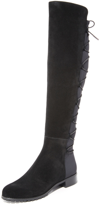 MICHAEL Michael Kors Skye Over the Knee Boots $265 thestylecure.com