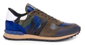 Valentino Camouflage Rock Running Sneakers
