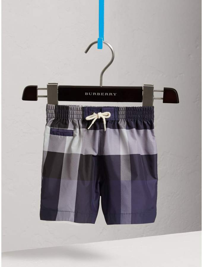 Check Technical Swim Shorts