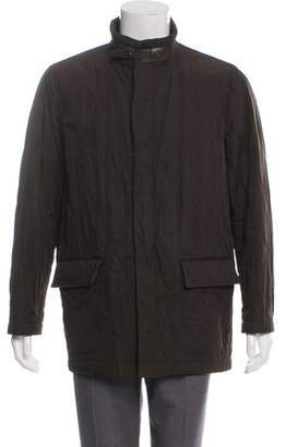 Barneys New York Barney's New York Quilted Field Jacket