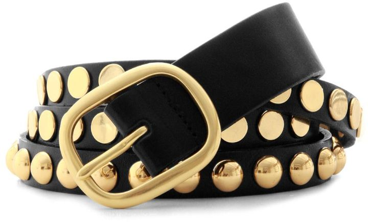 LINEA PELLE Split Belt with Studs