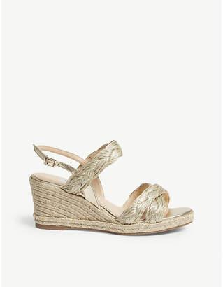 LK Bennett Roxie plaited heeled sandals