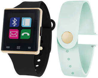 ITOUCH Itouch Air Interchangeable Band Set Black / Mint Unisex Multicolor Smart Watch-Jcp2724g724-Blm
