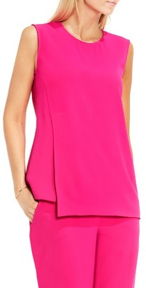Women's Vince Camuto Front Overlay Shell $89 thestylecure.com