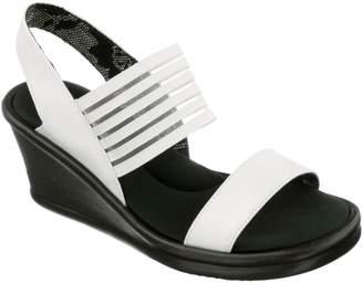 Skechers Womens Rumbler Wedge Sandals