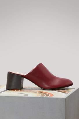 Acne Studios Sil high-heeled mules
