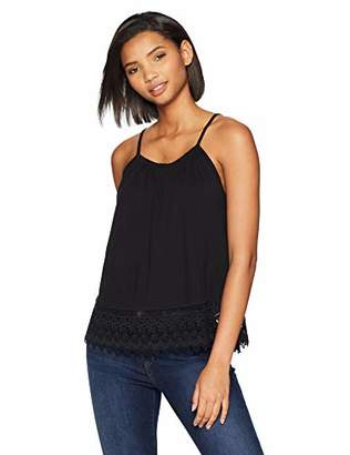 Brooke Mille Women's Front Lace Top