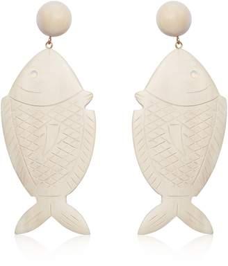 Rebecca De Ravenel Caspia Fish Earrings