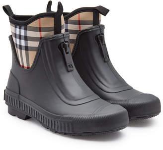 Burberry Flinton Rubber Rain Boots