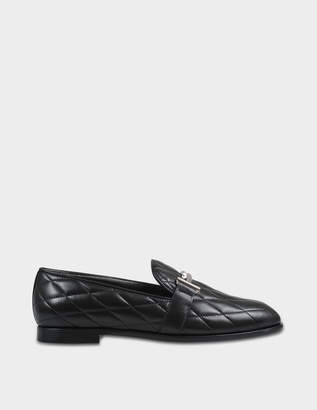 Tod's Quilted logo loafer